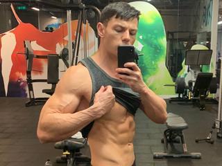 Boy MuscleHunkBrad